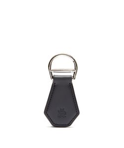 Dunhill | Logo-Debossed Leather Key Ring