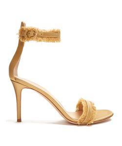 Gianvito Rossi | Portofino Fringe-Trimmed Sandals