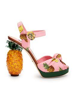 Dolce & Gabbana | Pineapple-Heel Sandals