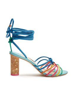 Sophia Webster | Copacabana Cork-Heel Leather Sandals