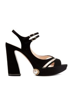 Nicholas Kirkwood | Estella Suede Platform Sandals