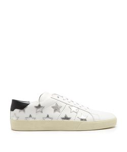 Saint Laurent | Court Classic Star-Applique Trainers