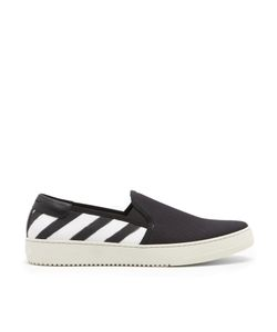 Off-White | Spray-Effect Slip-On Trainers