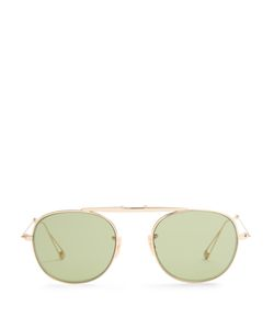 Garrett Leight   Van Buren Aviator Sunglasses