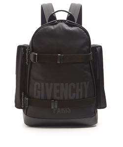 Givenchy | Logo-Print Canvas Backpack