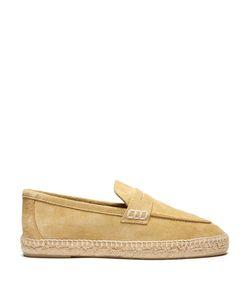 Loewe | Foldable-Heel Suede Espadrille Loafers