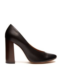 Chloé | Harper Block-Heel Leather Pumps