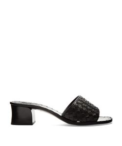 BOTTEGA VENETA | Intrecciato Leather Mules