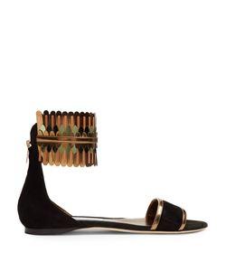 Jimmy Choo | Kimro Suede Flat Sandals