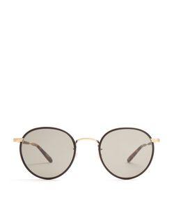Garrett Leight   Wilson Round-Frame Sunglasses