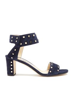 Jimmy Choo | Veto 65mm Studded Suede Sandals
