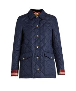 Burberry | Westbridge Check-Collar Quilted Jacket
