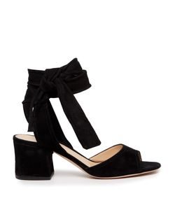 Gianvito Rossi | Ankle-Tie Suede Sandals