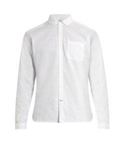 Oliver Spencer | Eton-Collar Cotton-Marl Shirt