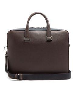 Dunhill | Cadogan Bi-Colour Leather Briefcase