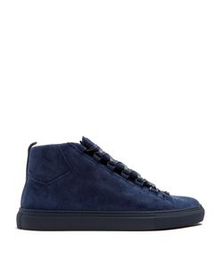 Balenciaga | Arena High-Top Suede Trainers