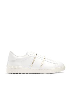 Valentino | Rockstud Untitled 11 Low-Top Leather Trainers