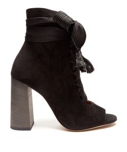 Chloé | Harper Lace-Up Suede Ankle Boots