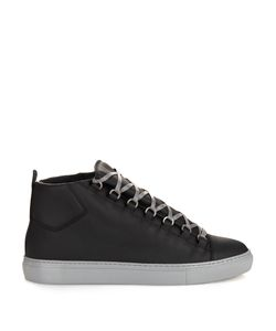 Balenciaga | Arena High-Top Leather Trainers