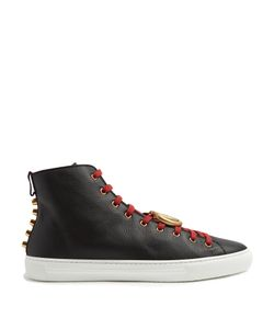 Gucci | Major High-Top Leather Trainers