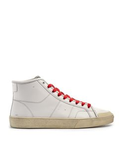 Saint Laurent | Court Classic Mid-Top Leather Trainers