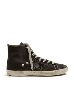 Golden Goose Deluxe Brand | Francy High-Top Canvas Trainers