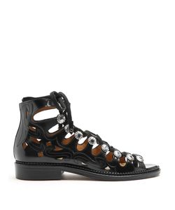 Toga | Cut-Out Leather Sandals