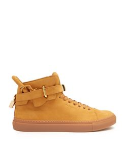 Buscemi | 100mm Core Clip Suede High-Top Trainers