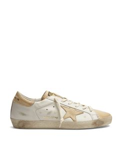 Golden Goose Deluxe Brand | Super Star Low-Top Leather Trainers