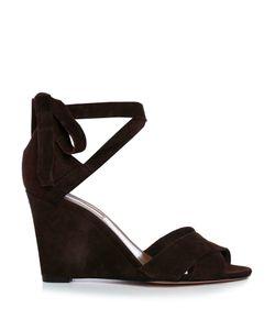 Aquazzura | Tarzan Suede Wedge Sandals