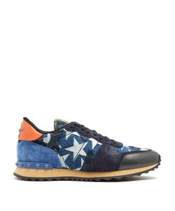 Valentino | Rockrunner Embellished Low-Top Trainers