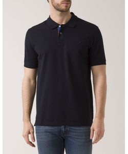 PS Paul Smith | Pique Polo Jersey With Contrasting Collar