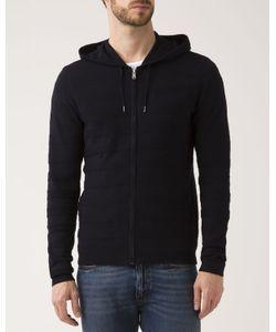 IKKS | Navy Zipped Hooded Cardigan