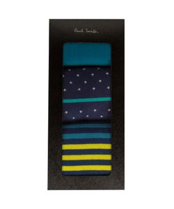PS Paul Smith | Pack Of 3 Pairs Of Dots And Stripes Socks