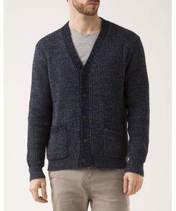 DENIM & SUPPLY RALPH LAUREN | Indigo Contrast Cotton Cardigan