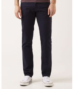 Levi's | Navy Cotton Linen 511 Slim Trousers