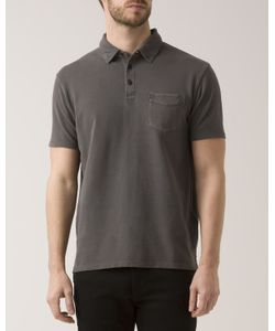 Levi's | Washed Anthracite Pique Pocket Polo Shirt