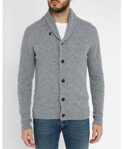 Hartford | Mottledbuttoned Wool Cardigan