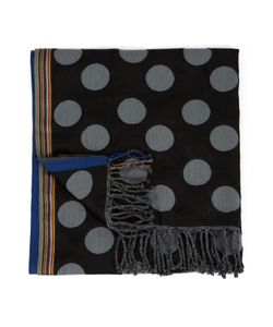 PS Paul Smith | Silk And Cotton Dots Scarf