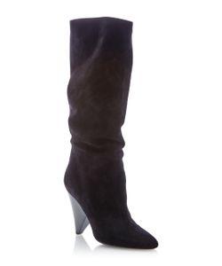 Michael Kors Collection   Belinda Suede Boot