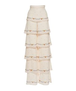 Vilshenko | The Phoebe Light Crepe Tie Trouser