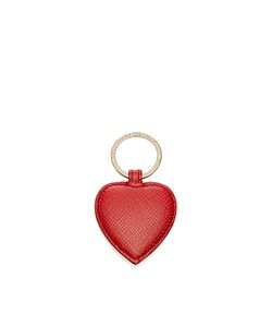 Smythson | Panama Heart Keyring