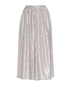 Sally Lapointe | Speckled Sequin Midi Skirt
