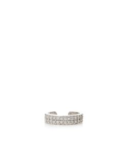 Anita Ko | Double Row Diamond Ear Cuff In