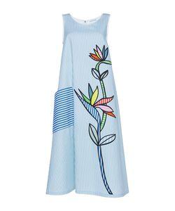Mira Mikati | Bird Of Paradise Applique Scuba Dress