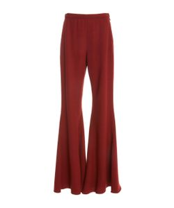 Rosetta Getty | Straight Flare Wool Trouser
