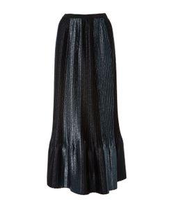 Adam Selman   Topiary Pleated Midi Skirt