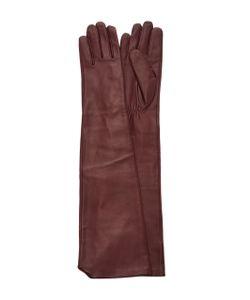 Paule Ka | Long Leather Gloves
