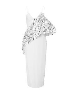Cushnie Et Ochs | Alina Sequin Ruffle Pencil Dress