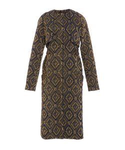 Sally Lapointe | Diamond Jacquard Double Layer Coat